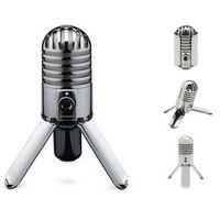 100% Original SAMSON Meteor Mic USB condenser microphone Studio Microphone Cardioid for computer notebook network for Skype