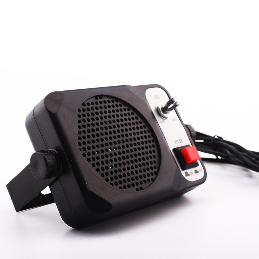 CB EXTENSION SPEAKER WITH NOISE FILTER AND MUTE SWITCH