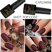 CATUNESS 8 ml Matte Top Jas Lucky Kleur Semi Permanente Gel Lak UV LED Lamp Langdurige Soak Off Gel nagels Polish(China)