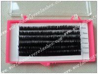 Free Shipping Top Quality Siberian Real Mink Fur Eyelashes Extension 1 Tray Lot