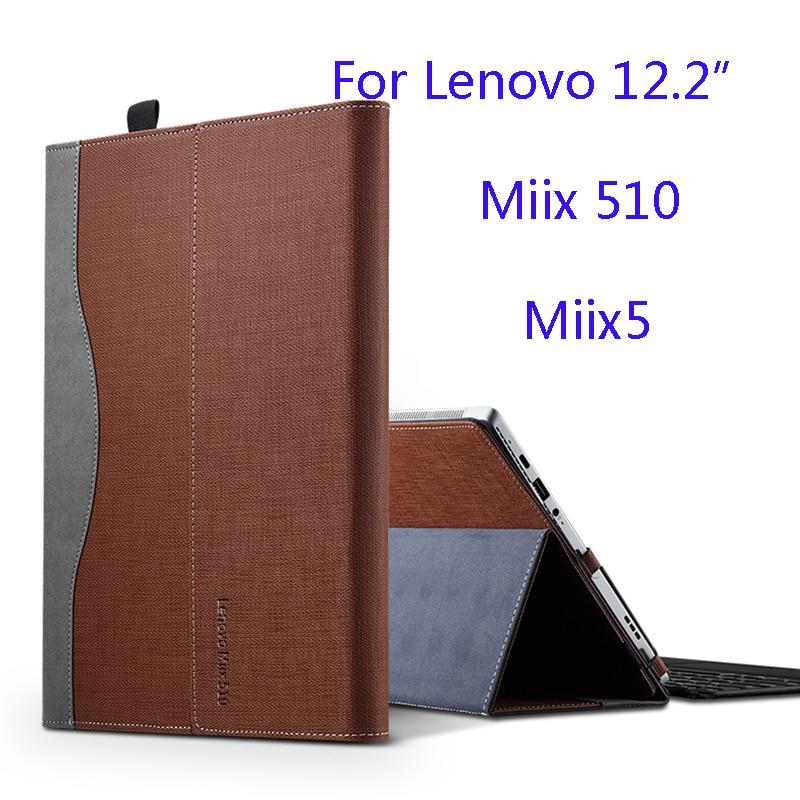 New Creative Design Case For Lenovo Miix 510 Miix5 12 2 Inch Laptop Sleeve Case PU