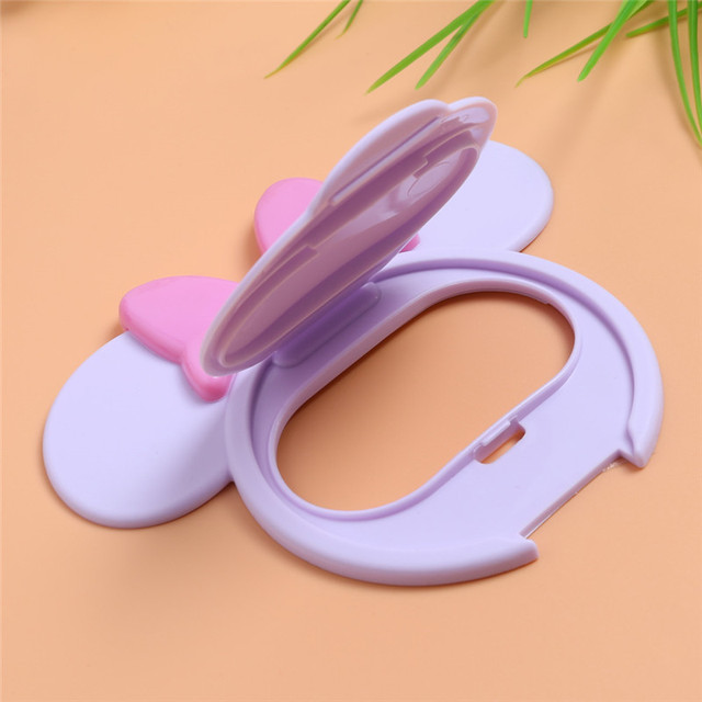 Baby Wipes Lid Baby Wet Wipes Cover Portable Child Wet Tissues Lid Cartoon Mobile Wipes Wet Paper lid Useful Accessories 5