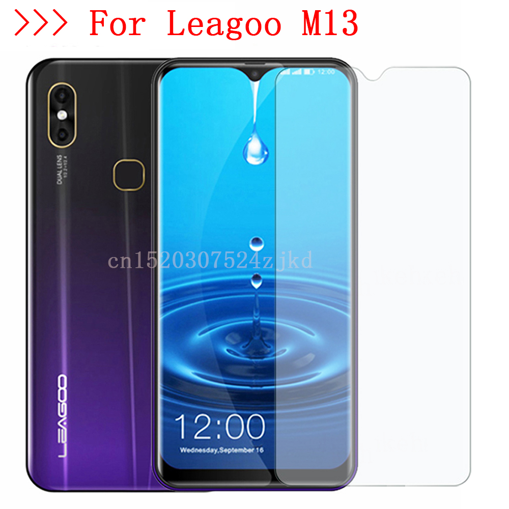 9H 2.5D Tempered Glass For LEAGOO M10 M11 M13 S10 Z7 S9 M9 PRO Z9 POWER 2 PRO T8 T8s Screen Protector Smart Phone Cover Film