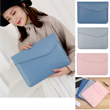 Pu Leather Thin Sleeve Case For Laptop 13 inch,Bag Cover For Notebook Dell Asus Lenovo Hp Ace Macbook Air Pro 13.3 Touch Bar pu leather case cover for lenovo ideapad 510s 14 inch laptop bag notebook protective sleeve pen as gift