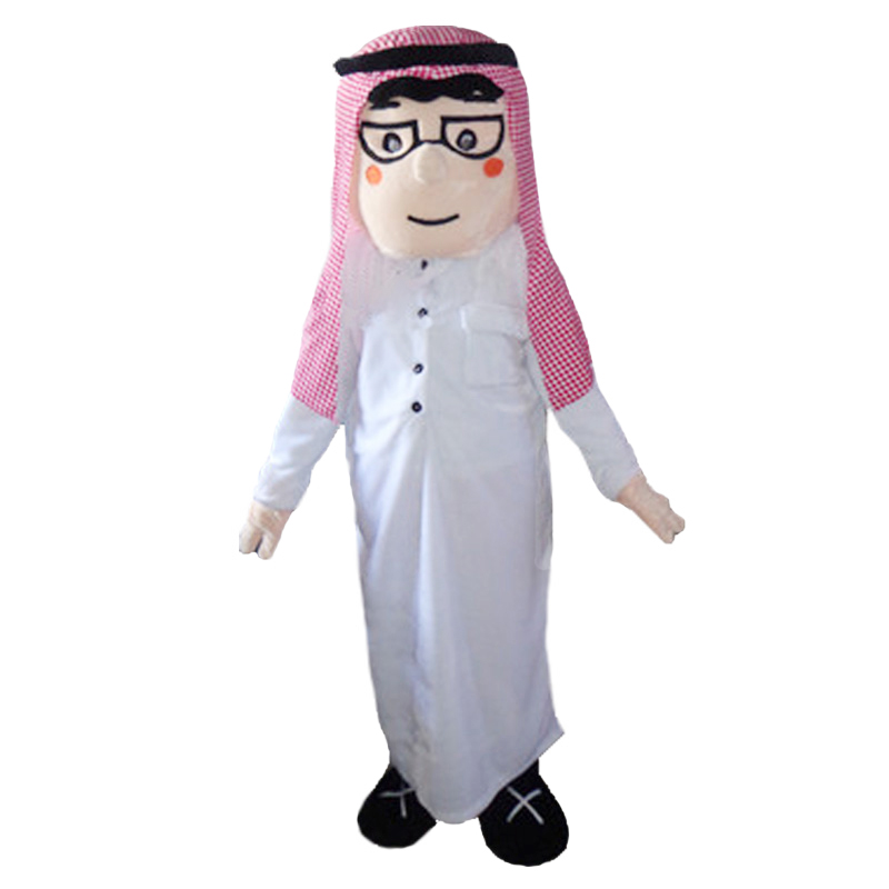 8ddf04006 Arab Boy Mascot Costume for Adult Arabian Girl Mascot Costume Carnival  Party Costumes Halloween Costume Performance Clothing-in Mascot from  Novelty ...