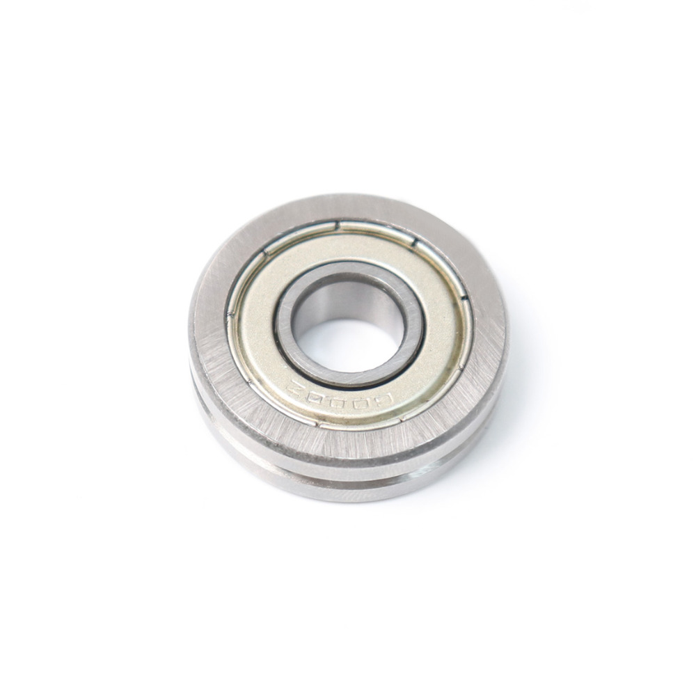 Newest 1Pcs A1001-ZZ High Quality Bearing Steel Ball Bearing Outer Ring with V groove thickness 8mm Roller guide Bearings матрас toris contour 22 торис контур 22 90x195