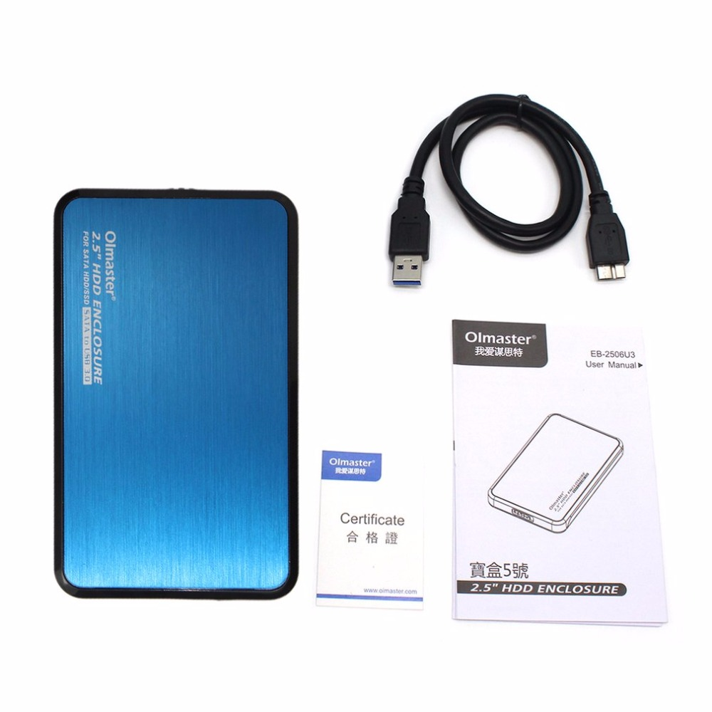 Olmaster Eb 2506u3 Multifunction Sata Usb 30 Hdd Case 25 Inch Ssd To Converter Circuit Diagram Enclosure For Notebook Pc Hard Disk Drive Box In From Computer