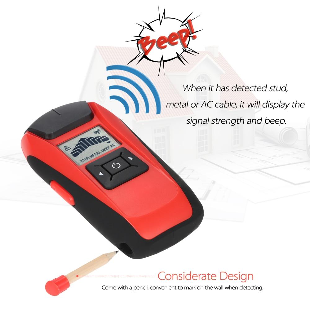 Handheld Stud Finder Multifunktionale Wand Detektor LCD Metall ...