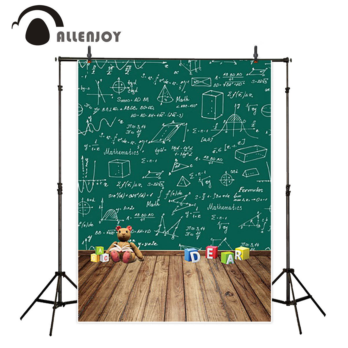 Allenjoy studio Photo background SCHOOL Mathematics Childhood blackboard photocall for photo Background photography michael hoy mathematics for economics 2e ise