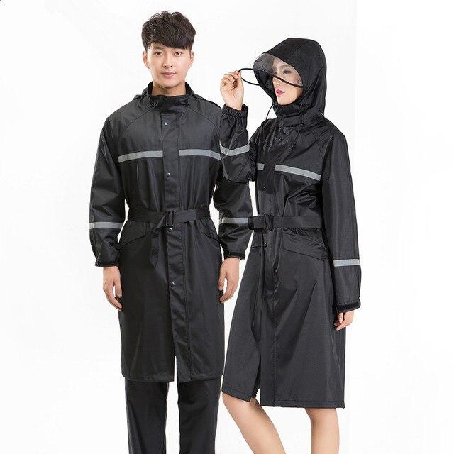 f86af8eb723 Abrigo de lluvia largo poncho mujeres hombres impermeable al aire libre  chaqueta capa de chuva chubasqueros. Sitúa el cursor encima para ...