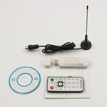 DVB-T2 Receiver Digital USB TV Stick HDTV Receiver With Aerial Remote Control HD USB Dongle PC Laptop For Windows 7 8 Vista