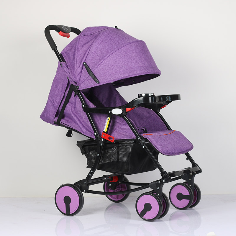 Abdo Baby Stroller Portable Travelling Pram Children Pushchair Folding Portable Baby Buggy Pram Luxury Lightweight Stroller