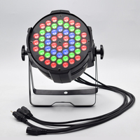 RGBW 54 x 3W LED Par Light Voice activated DMX 512 Control LED Stage Lighting For KTV Party Light DJ Disco Stage Light