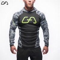2017 New Fitness Men Hoodies Gymshark Brand Clothing Men Hoody Zipper Casual Sweatshirt Muscle Men S