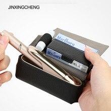 JINXINGCHENG Fashion Flip Leather Case for iqos 3.0 Case Wallet Case for iqos 3 Wallet Pouch Bag Holder Box