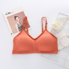 Push Up Seamless Bra Bralette Elegant Comfortable Wire Free Underwear Women Summer Bras Female Solid Color Sexy Lingerie