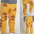 2016 New Boys Pants Knitting Haroun Pants Boys Girls Printed Harem Knitted Pants baby kids Toddlers Pants Cotton 3 Color Choses