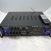 Promoción especial NUEVO de ALTA FIDELIDAD 500 W Amplificador de Alta Potencia 220 V 12 v con Control Remoto Privado Con módulo Bluetooth FM Radio de Rusia