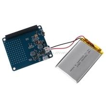 UPS CAPPELLO Bordo del Modulo di 2500mAh Batteria Al Litio Per Raspberry Pi 3 Modello B/Pi 2B/B +/A + Dropship