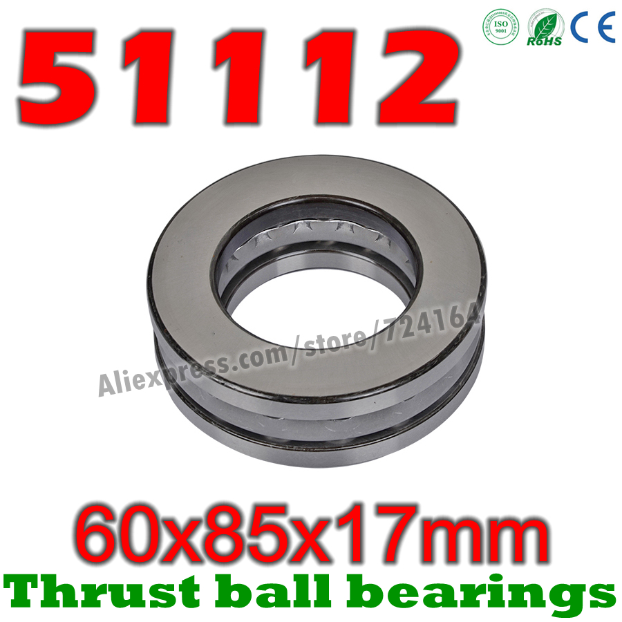 51112 Thrust Bearing 60x85x17 Thrust Bearings