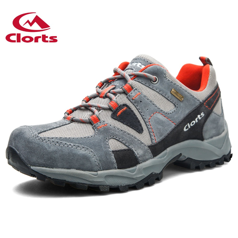 2016 Men Hiking Boots HKL-828A/B/C Clorts Nubuck Breathable Outdoor Hiking Shoes Suede Rubber Waterproof Athletic Sneakers 2016 clorts men outdoor shoes nubuck hiking shoes breathable suede trekking shoes athletic sneakers for men hkl 826
