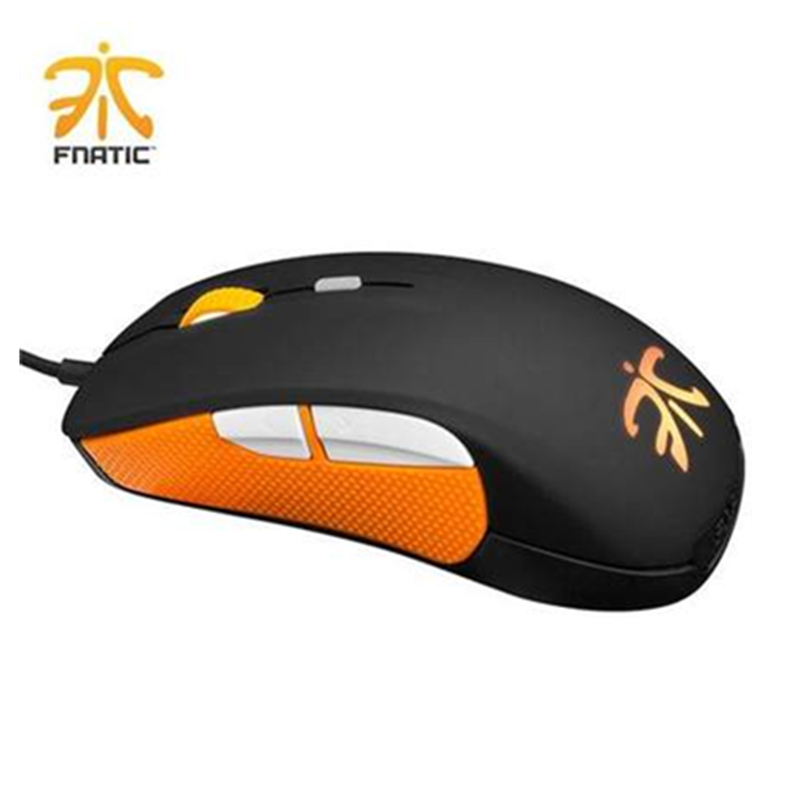 100%Original SteelSeries Gaming Mouse Rival Fnatic Edition USB Wired 6500DPI Optical Gaming Mice SteelSeries Mouse Free Shipping 100% origianl steelseries kana v2 mouse optical gaming mouse