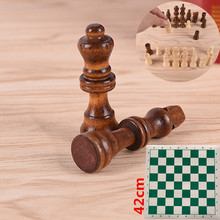 Chinese Traditional Chess Game Height Wooden Pieces Pu Leather Board Entertainment Games Entertaiment Military