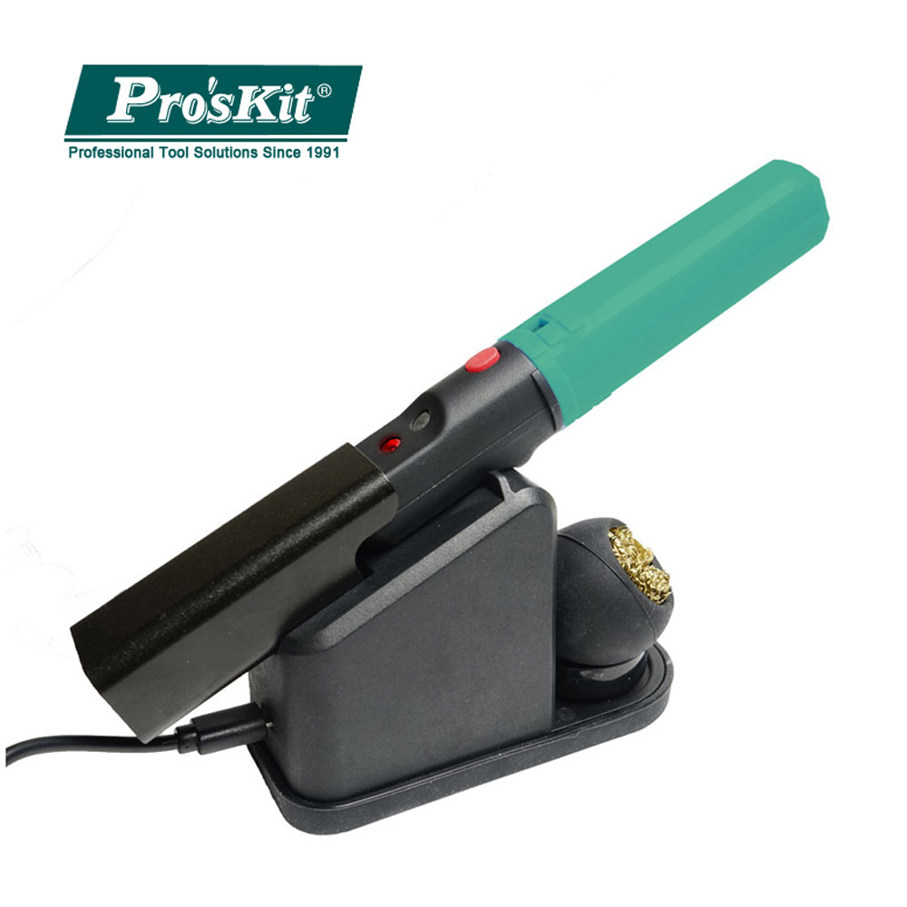 Pro'sKit SI-B166 Wireless USB Electricity Soldering Iron For Electronic Repair Welding Pen Electric Welding Tool Soldering Gun