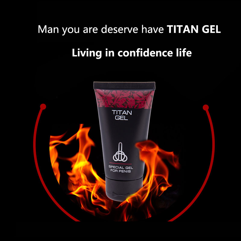 ORIGINAL TITAN GEL Male Enhancement Increase Enlargement Pills Male Sex Time Delay Erection Cream Adult Sex Product