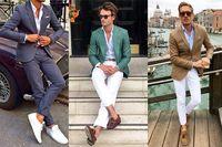 Mens Suits With Pants Green Tuxedo Men suit Slim Fit Casual Trajes Hombre Custom 2 Piece Suits Men Business Blazer masculino