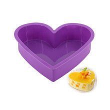 DINIWELL Big Heart Shape Silicone Cake Baking Mold For DIY Pastry Mousse Bread Mould Bakeware Cake Pan Dessert Decorating Tools silicone pudding mold cake pastry baking round jelly gummy soap mini muffin mousse cake decoration tools bread biscuit mould