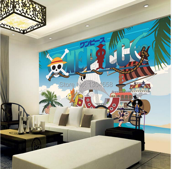 Free shipping custom modern 3 d mural bedroom TV cartoon children room background wall wallpaper one piece free shipping custom murals worn coloured wood wall mural bedroom living room tv backdrop wallpaper