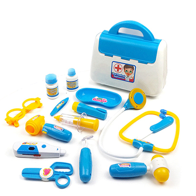 educational toys Children play house baby boys and little role-playing doctors and nurses injections medicine chest Toys