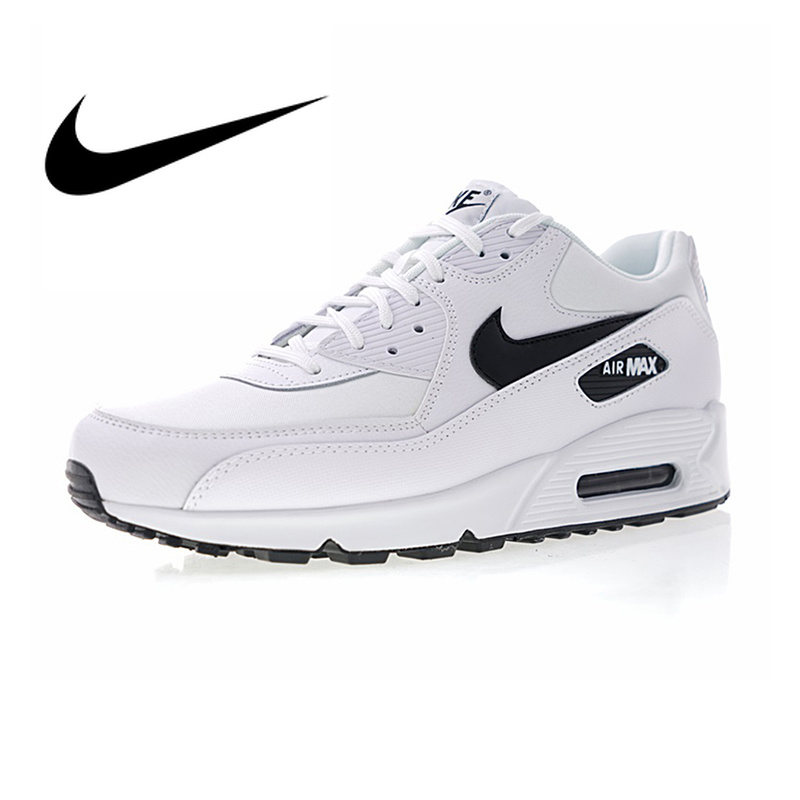 NIKE AIR MAX 90 ESSENTIAL White Mens Running Shoes Breathable Massage Height Increasing Shock-absorbing Lightweight 325213 131NIKE AIR MAX 90 ESSENTIAL White Mens Running Shoes Breathable Massage Height Increasing Shock-absorbing Lightweight 325213 131