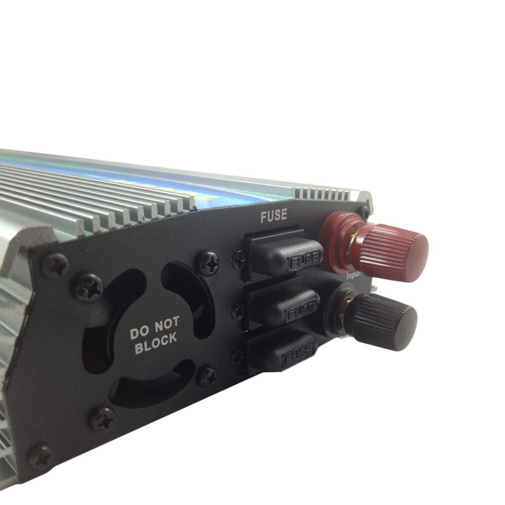 1000W 30V/36V Grid Tie Inverter MPPT Function Pure Sine Wave 110V Or 230V Output 60 72 CELLS Panel Input On Grid Tie Inverter