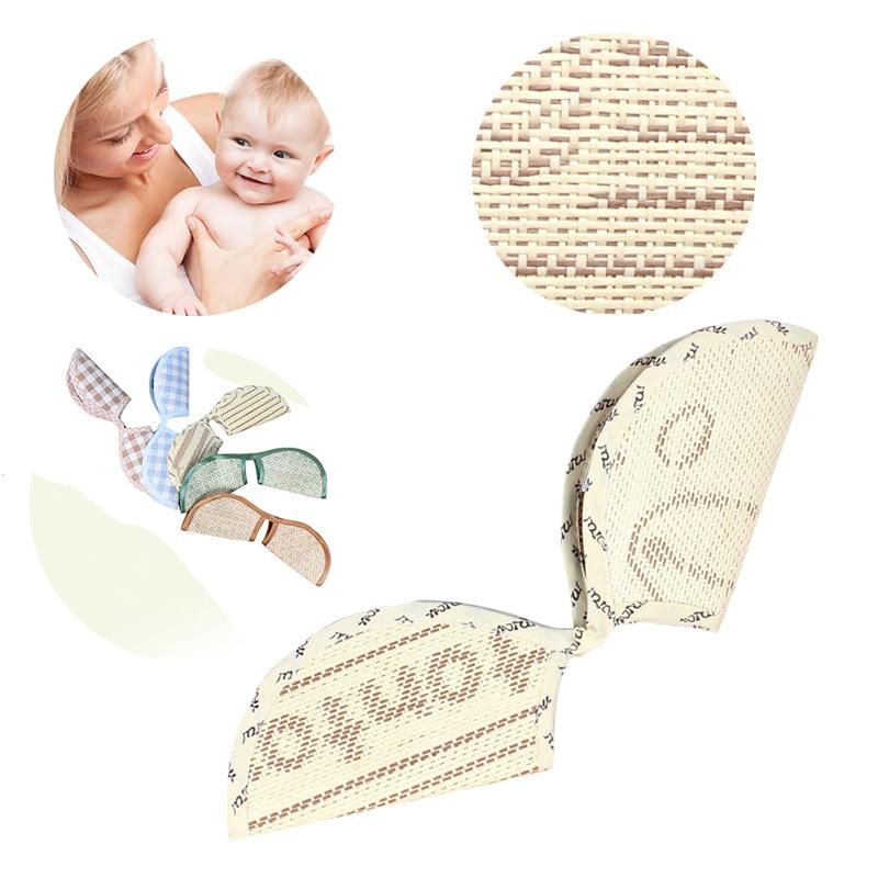 Random Color Baby Arm Mat Summer Ice Silk Children Stroller Cool Straw Linen Arm Mat Breast Feeding Baby Sleep Mat