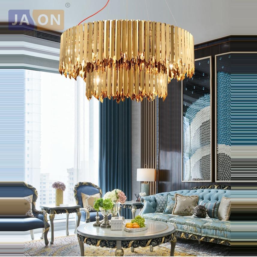 LED Decken Design Kronleuchter Luster Lampe Leuchte Chrom Kristalle Big.Light