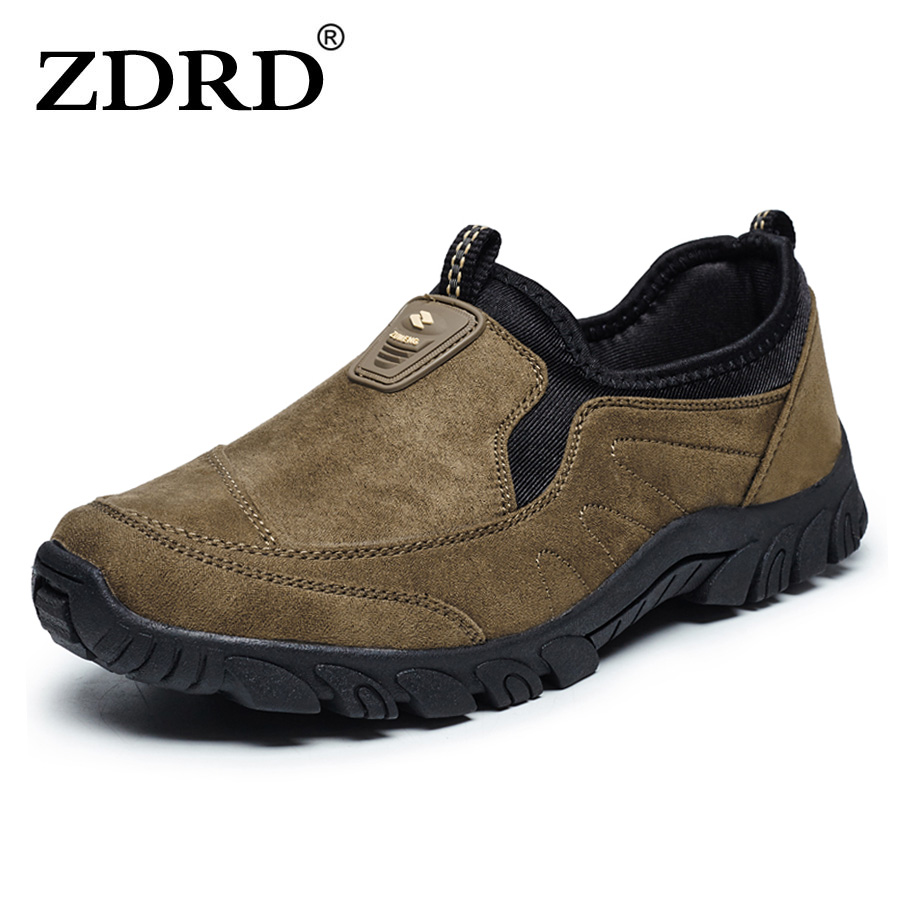ФОТО ZDRD Top brand quality Men Loafers Breathable Light Slip Casual Shoes Sapatos masculinos calzado deportivo Men Shoes