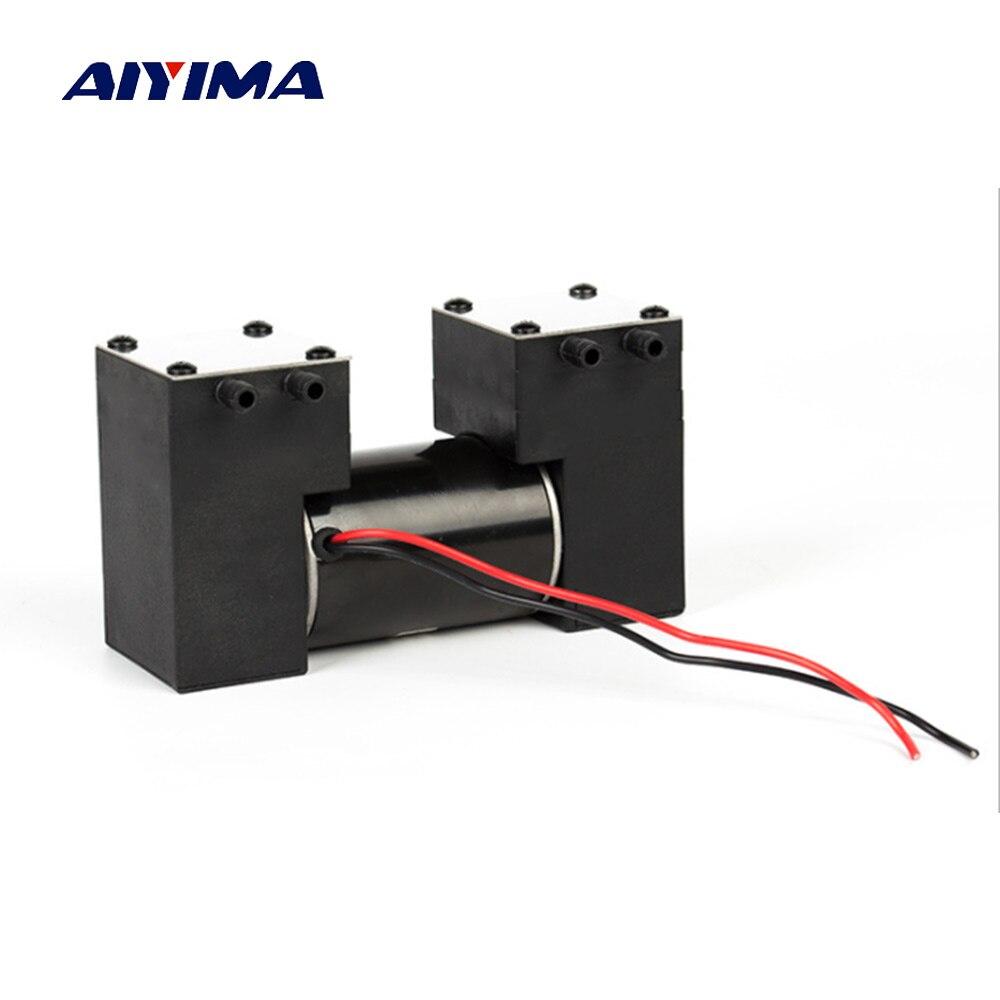 Aiyima DC 12 v Micro Pompe À Vide À Haute Pression Négative Silencieux Électrique Pompe D'aspiration Pour Médical beauté Grattage Ventouses