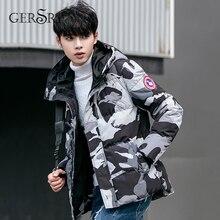 Gersri Parka Men Winter Jackets Cotton Chaquetas Hombre fash
