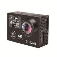 Action Camera GEEKAM K8 Ultra HD 4K WIFI Sport 360VR K8 1080P Dual 2 LCD 170D