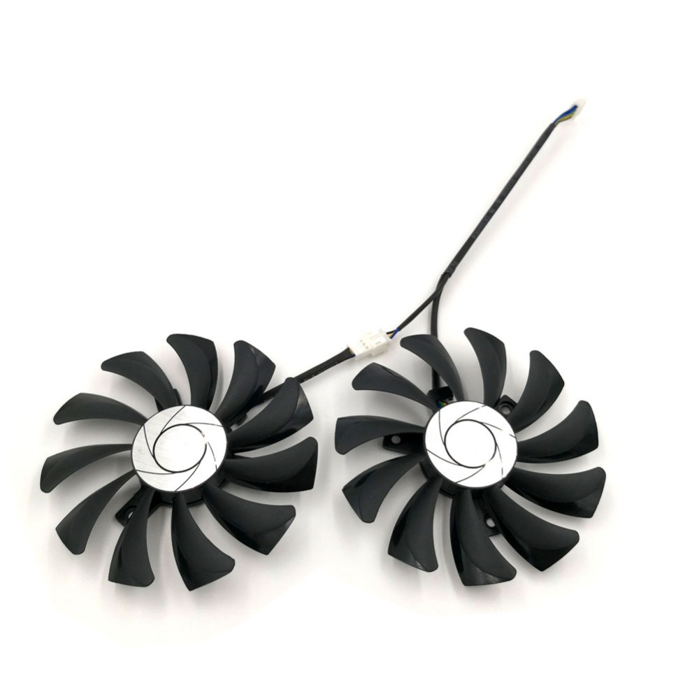 1 пара из 2 шт. HA9010H12F-Z Замена Графика вентилятор для Видеокарта MSI ураган GTX 105 ...