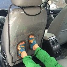 Заднее сиденье автомобиля протектор для детей ребенок удар коврик от для hyundai IX35 IX45 Sonata Verna Solaris Elantra Tucson Mistra IX25