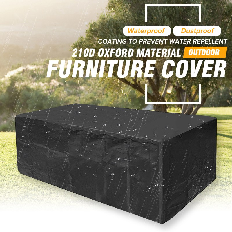 Surprising Us 29 29 42 Off Waterproof Oxford Garden Ratten Furniture Cover Extra Large Outdoor Patio Table Sofa Set Rain Snow Protection Dustproof Covers In Machost Co Dining Chair Design Ideas Machostcouk