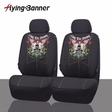 2017 Fashion Pattern 2 Front Seat Covers Car Seat Cover Universal For Crossovers Sedans Auto Interior Accessories For Car Care