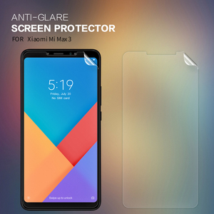 Защитная пленка Nillkin для экрана Xiaomi Mi Max 3, прозрачная/Матовая Мягкая Пластиковая пленка для Xiaomi Mi Max 3 Max3