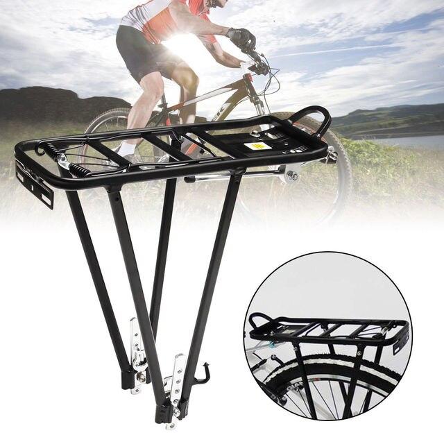 CoolChange fahrrad zubehör mountainbike transporter fracht hinten rahmen aluminium regal fahrrad rack gepäck rack können geladen werden