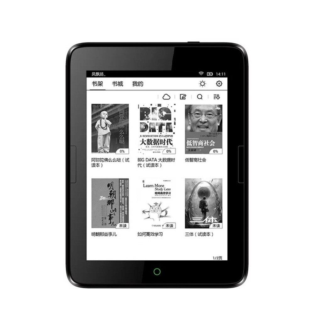 Nouveau 6 pouces livre électronique e-ink 8 GB eBook Ereader s 300ppi écran 1448x1072 Android T63 e-books lecteur WIFI