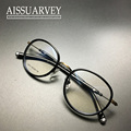 Eyeglasses frame fashion brand women men vintage optical prescription round metal reading computer myopia retro sprcial art new