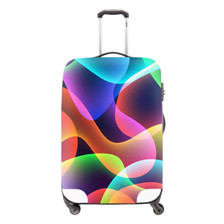 12 New Design Animal Portable Elastic Travel Luggage Cover Husky Print Protect Suitcase Case